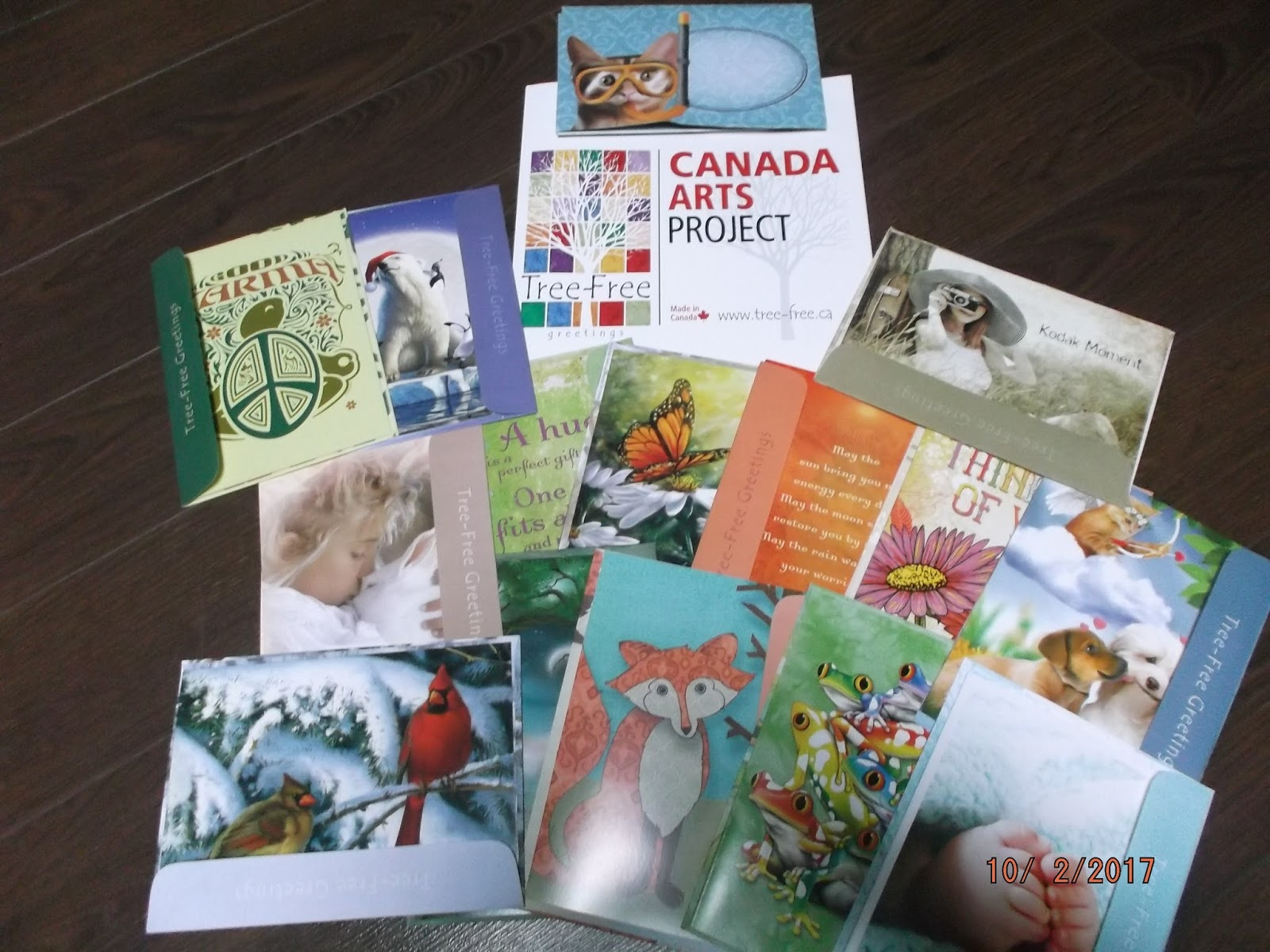Stretching the one income dollar review and giveaway tree free are you looking to brighten someones day then send them a greeting card with beautiful matching envelope one from tree free greetings canada kristyandbryce Image collections