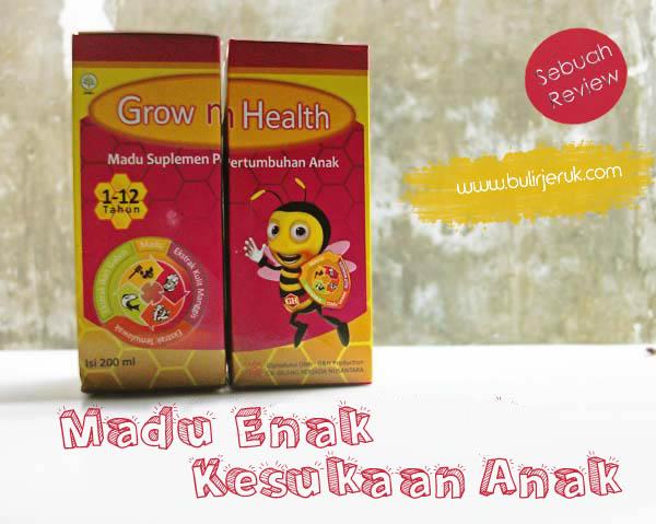 Madu Grow n Health, Madu Enak Kesukaan Anak