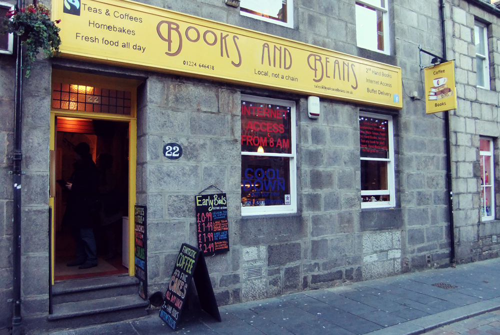 Books and Beans, Aberdeen