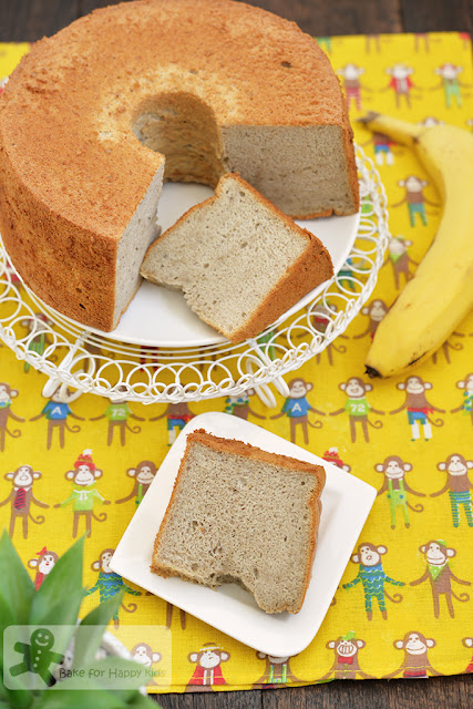 best soft moist banana chiffon cake recipe
