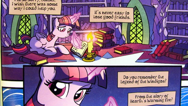 Pony!Twilight replies to Sunset's message