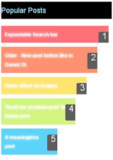Cara membuat popular post menjadi lebih keren