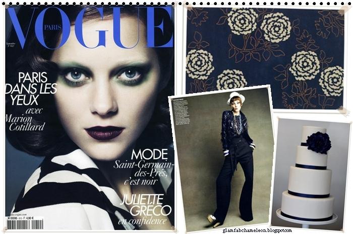 Vogue Paris blue cover