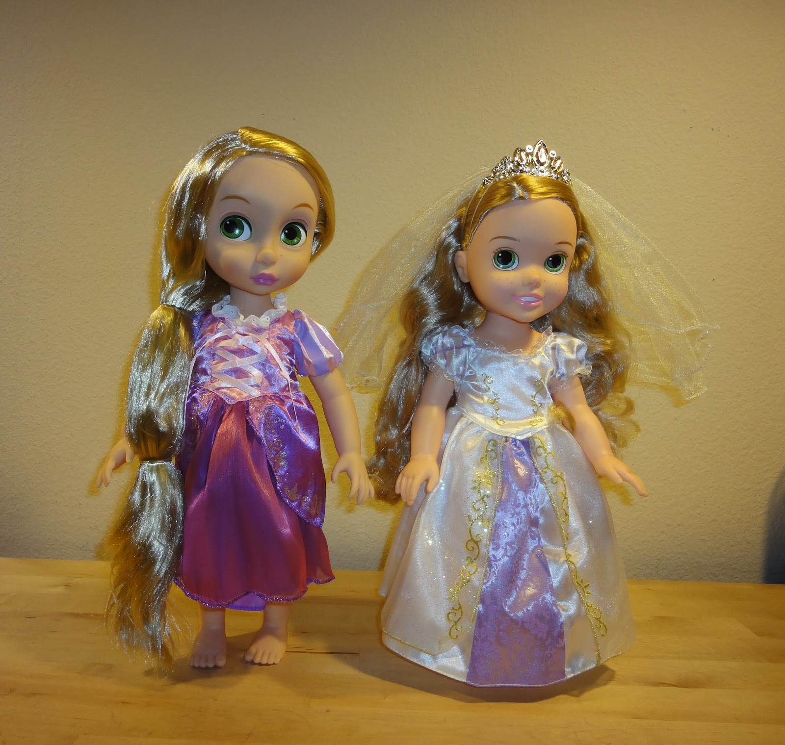 The Doll Wonders Rapunzel Disney Animators Collection
