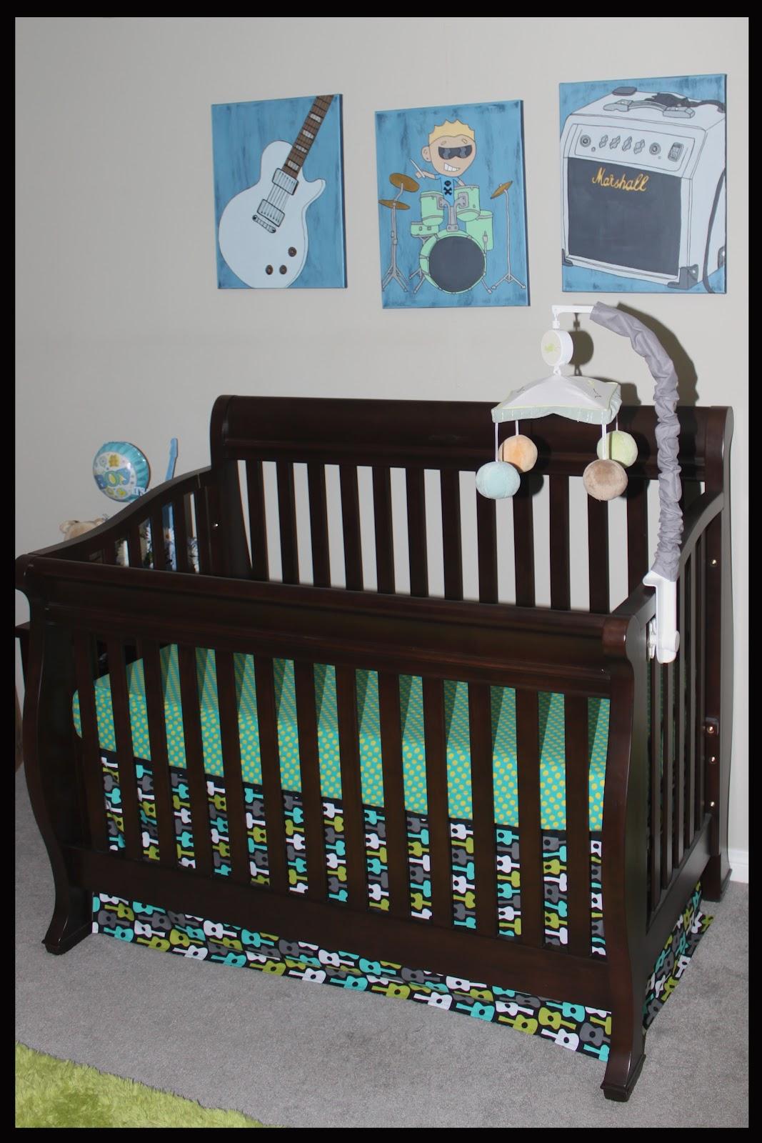 Baby Boy Room Design Pictures: Michelle Kroll Design: Baby Boy Music Nursery