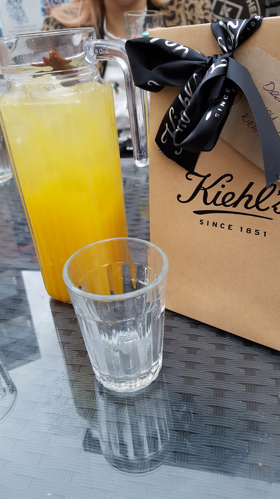 Kiehl's Blogger Event Leicester