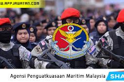 Jawatan Kosong Terkini di Agensi Penguatkuasaan Maritim Malaysia.