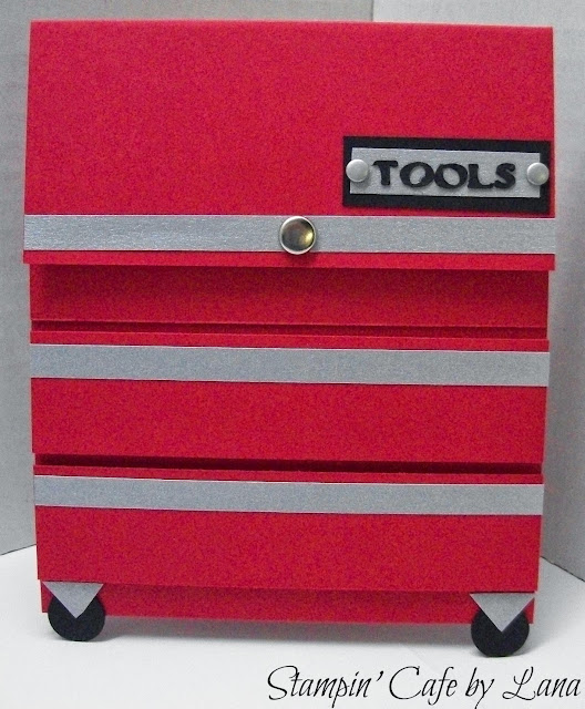 Stampin' Cafe by Lana: Toolbox Gift Card Holder for Father ...