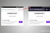 Cara Mengubah Warna Address Bar Situs di Browser Mobile