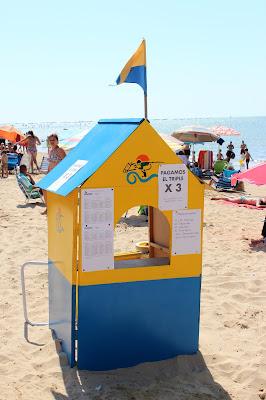 Kiosko de apuestas en Sanlúcar de Barrameda