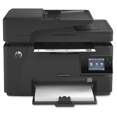 with wireless connectivity together with mobile printing features HP LaserJet Pro M127fw Driver Downloads
