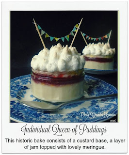 This recipe for Individual Queen of Puddings, is a historic bake and easy to make.
