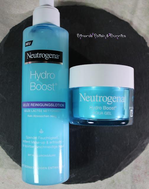 Neutrogena Hydro Boost Reinigungslotion und Aqua Gel