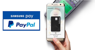 Samsung Pay and PayPal