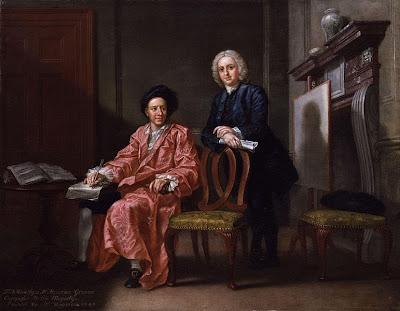 Maurice Greene; John Hoadly, by Francis Hayman, 1747