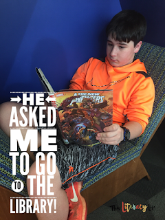Getting middle school students to read can be tricky, but some books can help motivate them to read and become better readers. Graphic novels and comic books can be just those gateway books they need!