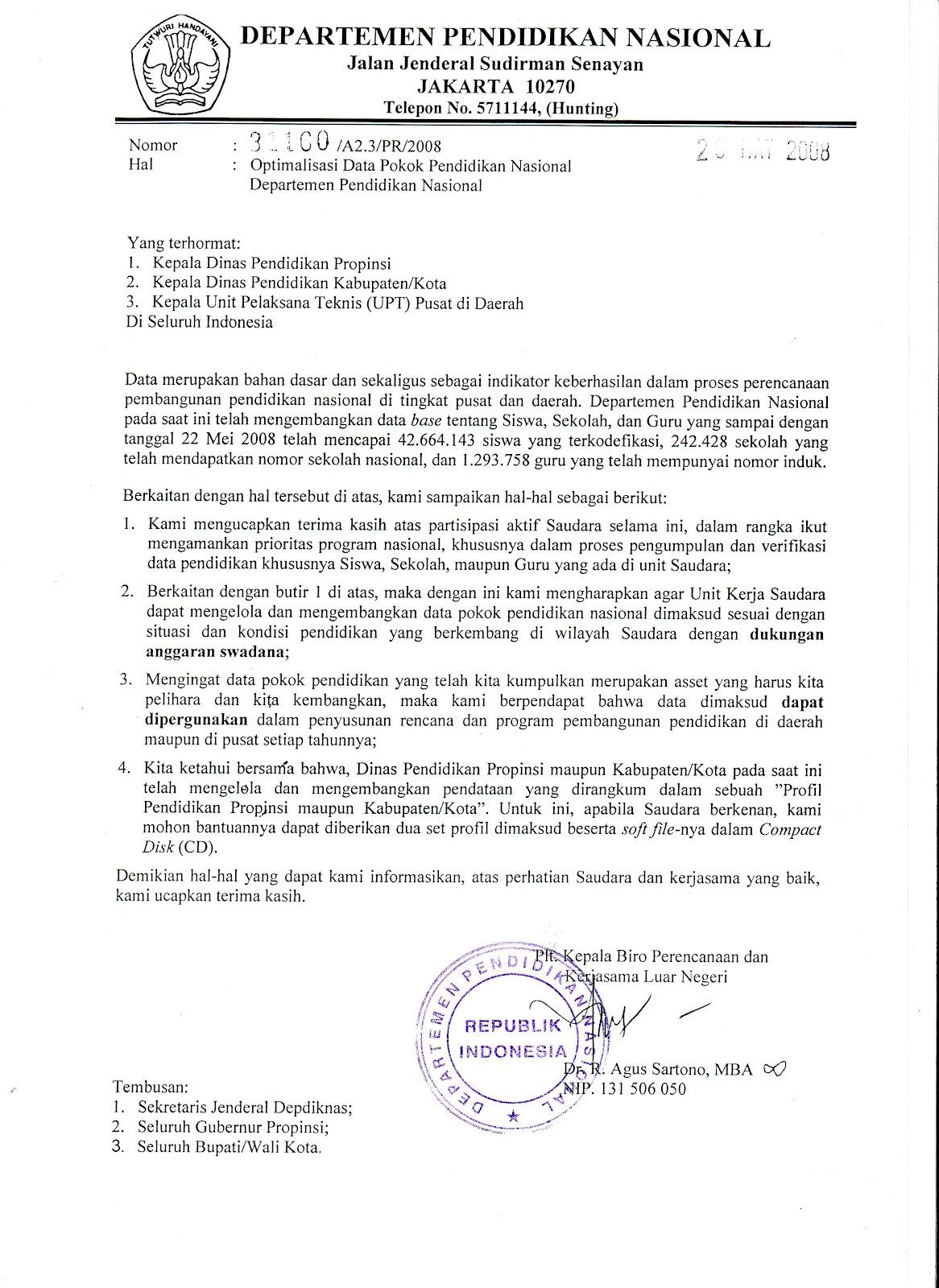 100% Teater Djiwo: Contoh Surat Pernyataan yang Baik ...