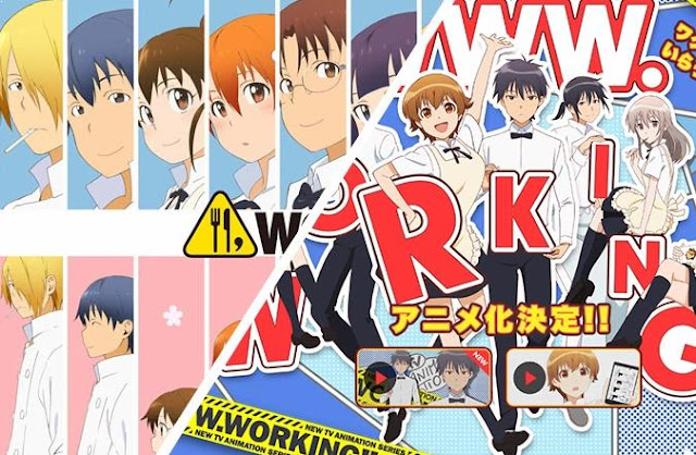 Working Series - Top Best anime by A-1 Pictures List