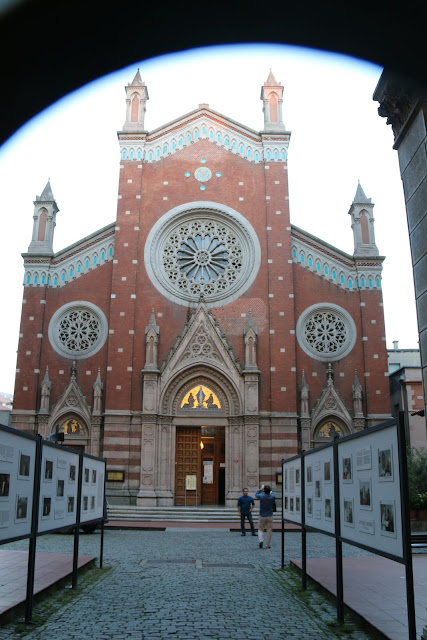 St. Anthony of Padua Church along Istiklal Street in Istanbul, Turkey