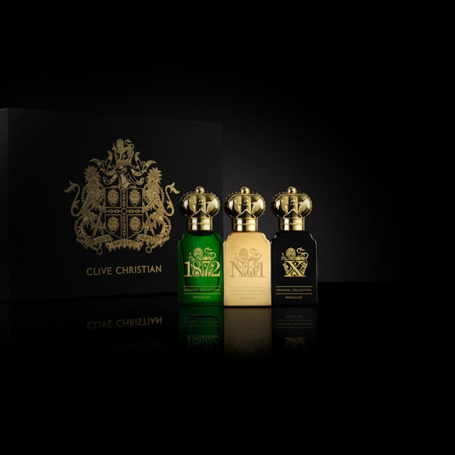 CLIVE CHRISTIAN and their ORIGINAL COLLECTION MASCULINE EDITION GIFT SET perfumes
