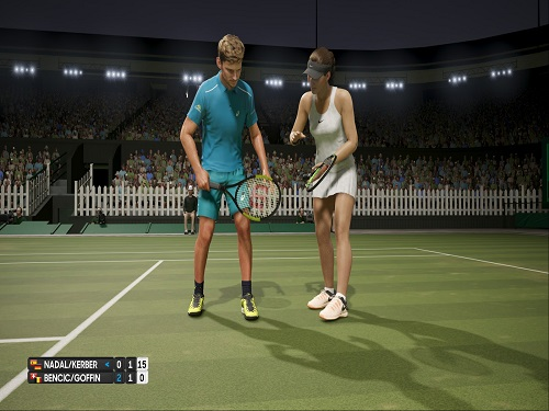 AO International Tennis Game Free Download