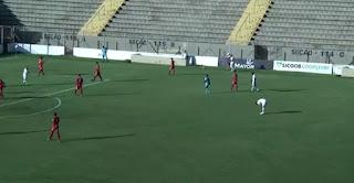 Imagem do vídeo do jogo Capivariano x Barretos no Paulista A3 26/01/2019