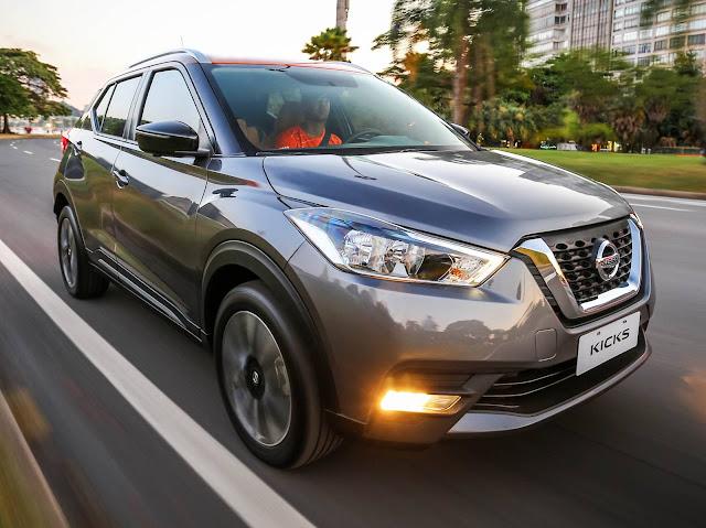 Novo Nissan Kicks 2017 - consumo