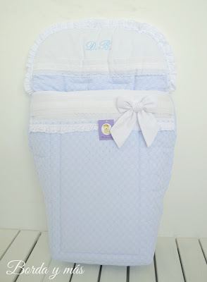 Saco silla Bebecar Stylo Class en batista blanco