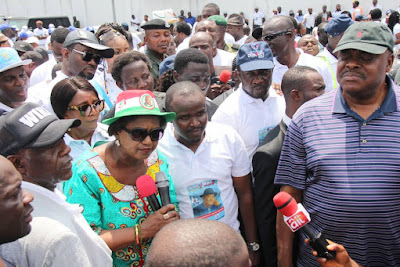 Thousands of Rivers Youths March for Wike, endorse him for Second Term