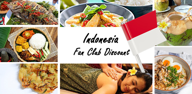 Indonesia Fan Club Discount