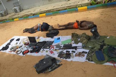 See Photos of 5 Suspected Boko Haram Terrorists Arrested By Police In Kano