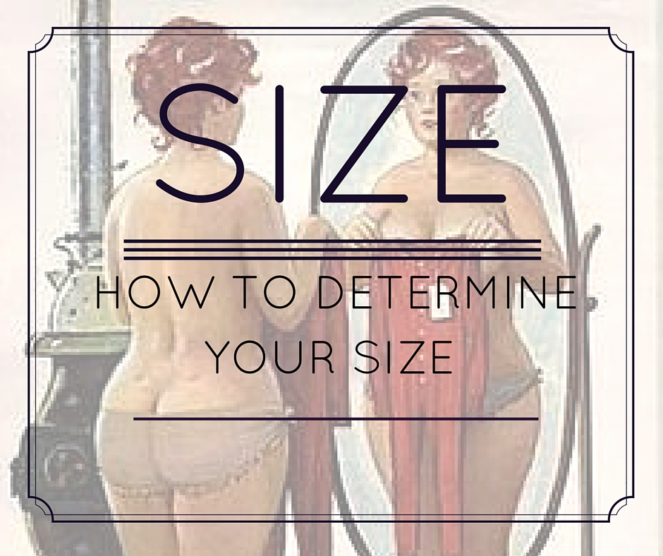 how to determine size online shopping