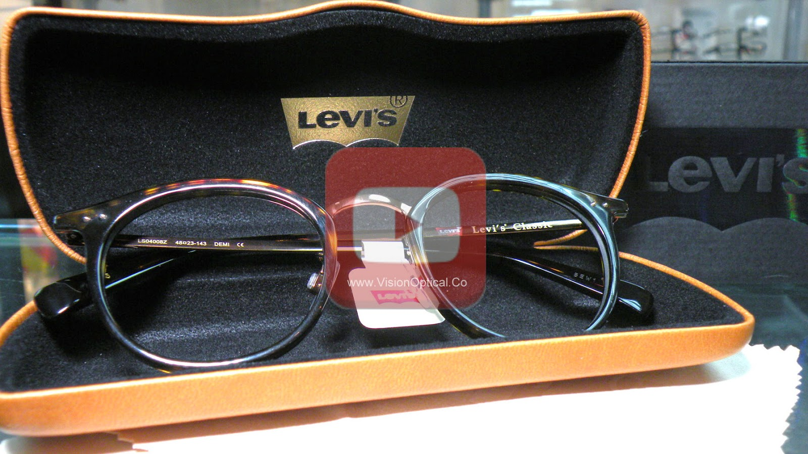 Levi's Classic Collection Vintage Boston Frame Shape 眼鏡