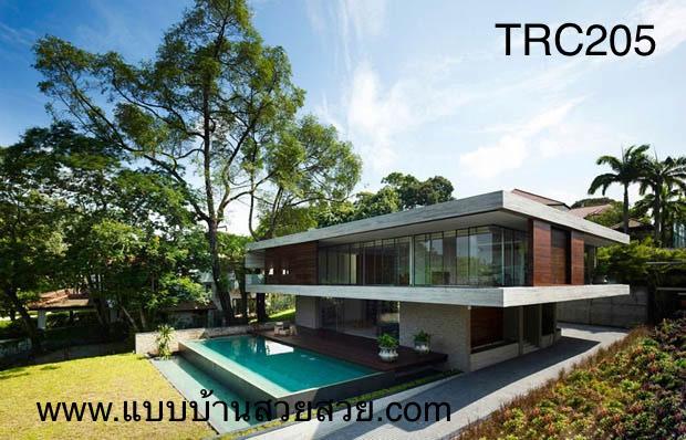แบบบ้านสวย  บ้าน2 ชั้น TR201