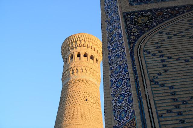 Ouzbékistan, Kaylan, minaret, © L. Gigout, 2010
