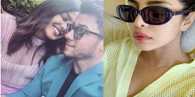 New Plane Selfie Priyanka Chopra Desi Gir