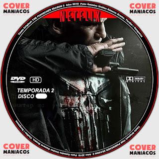 GALLETA THE PUNISHER TEMPORADA 2 [ COVER DVD NETFLIX]