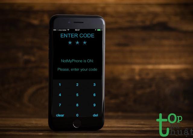NotMyPhone - ứng dụng chống trộm free mà hiệu quả