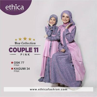 Ethica Sarimbit Family 2017 Busana Muslim Trendy Dan Anggun