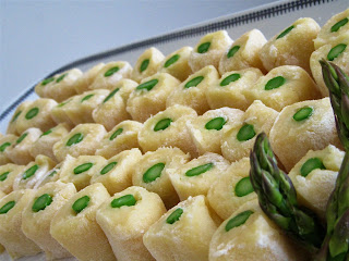 Gnocchi without potatoes - Green eyes