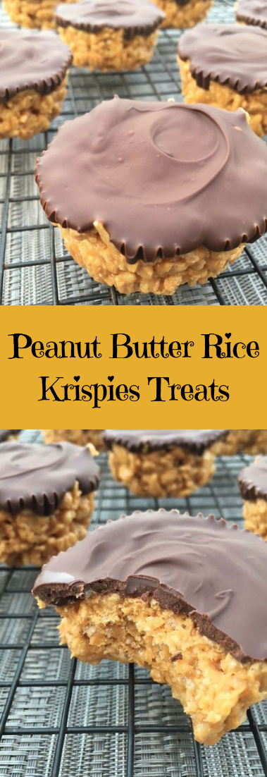 Peanut Butter Rice Krispies Treats #desserts #riceButter