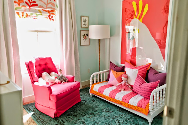 One Room Challenge little girls bedroom makeover