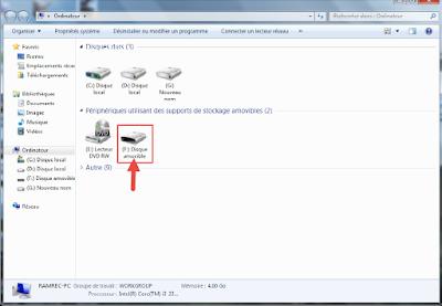 شرح تغيير شكل أيقونة الفلاش USB بدون برامج