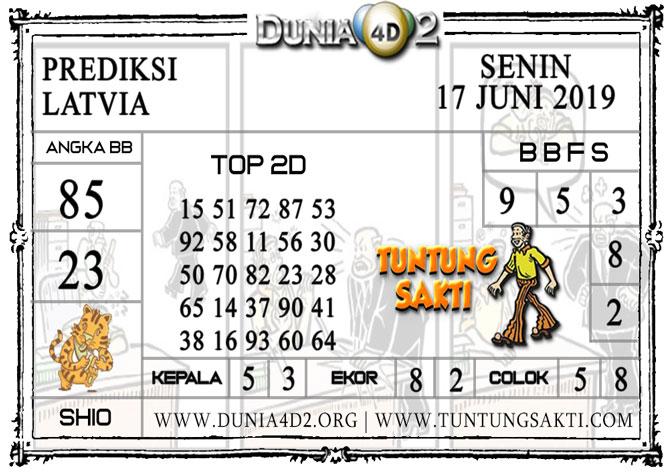 """Prediksi Togel """"LATVIA"""" DUNIA4D2 17 JUNI 2019"""