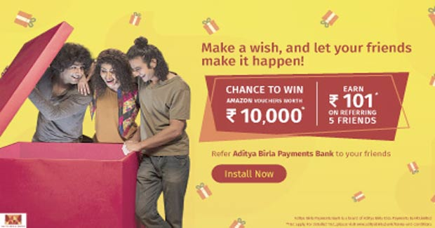 ABPB UPI Refer and Earn 100rs in Bank for Referring 5 Peoples