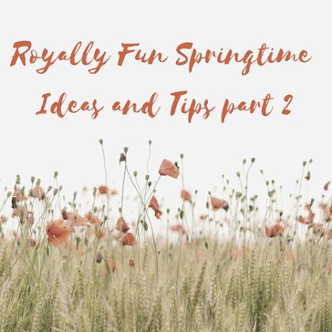 Royally Fun Springtime Ideas and Tips PART 2 – Royals Lesson!
