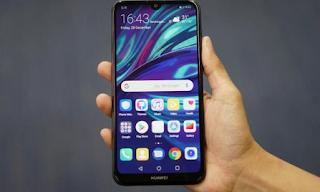 Cara Screenshot HUAWEI Y7 Pro 2019 Terbaru