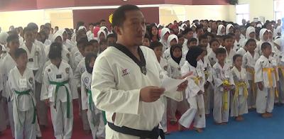 Jelang PORDA 447 Atlet Taekwondo Diuji