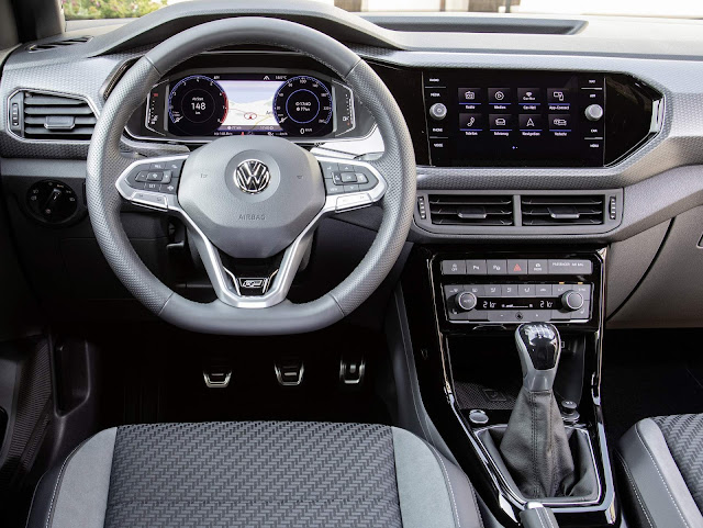 Novo VW T-Cross 2020 - interior