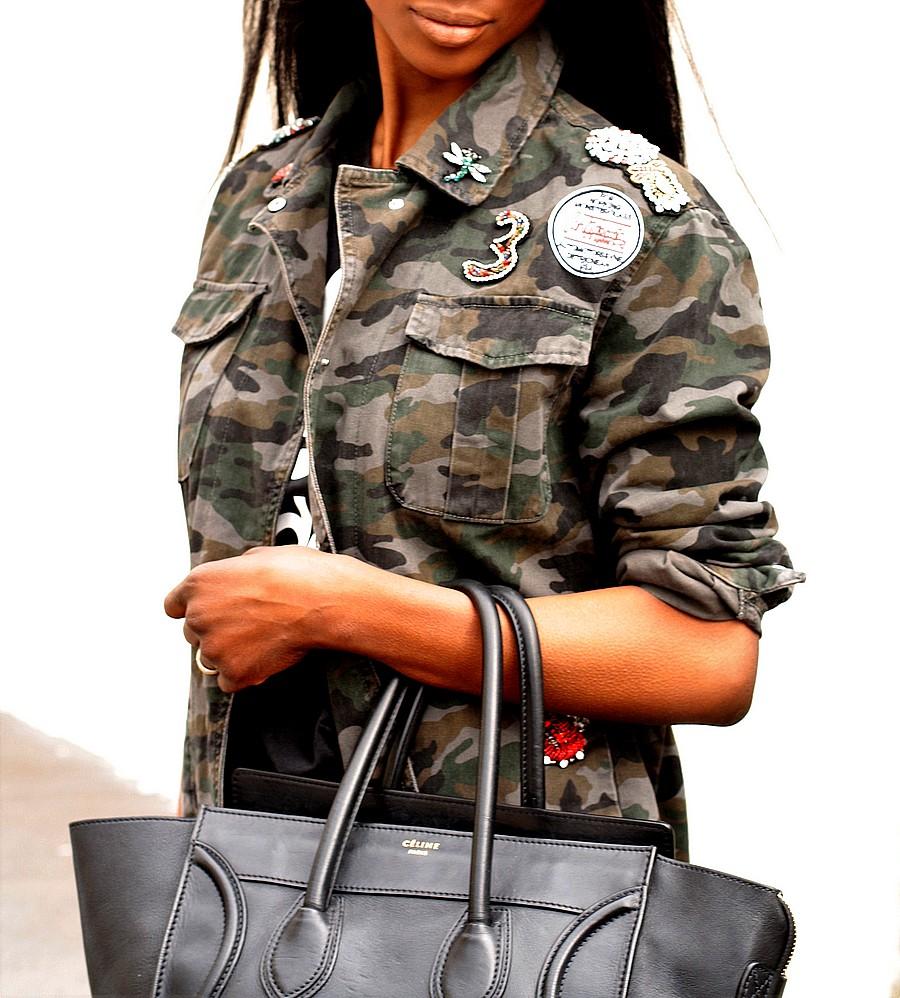 veste-parka-camouflage-broderies-sequins-perles-strass